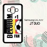 Casing Samsung Galaxy J7 Duo HP Belgium 2018 Russia Soccer Games L2556