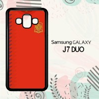 Casing Samsung Galaxy J7 Duo HP Spanyol Jersey Home LI0183