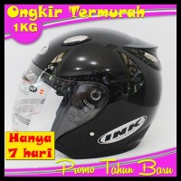 Harga Promo ! ! Cuci Gudang Helm Best1 Model Ink Centro Blue Ice Sni