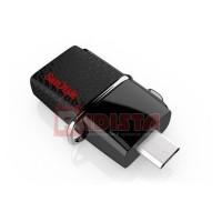 KOMPUTER & AKSESORIS SANDISK OTG FLASHDISK ULTRA DUAL DRIVE USB 3.0 -