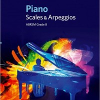 Buku Piano ABRSM Piano Scales & Arpeggios Grade 8 From 2009