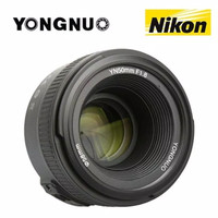 Lensa Yongnuo 50mm f1.8 For Nikon high quality