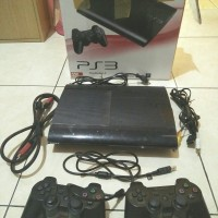 Jual PS 3 Super Slim 320 GB (second)