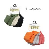 Kaos kaki 6pcs/pack Prewalker baby anak bahan Import Tamagoo TOT