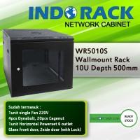 Wallmount Rack Indorack 10U Depth 500mm