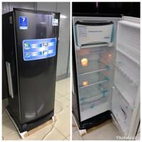 Harga kulkas 1 pintu aqua aqr 190 murah free ongkir   Hargalu.com