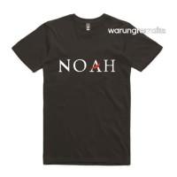 Kaos Obral PRomo Baju Combed 30S distro Tshirt Band TULISAN Noah Musik