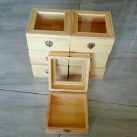 Kotak Perhiasan Kayu / Wooden Box / Kotak Penyimpanan / Kotak Kayu