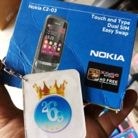 Dus Hp Nokia C2-03 - Dos Box Kardus Kotak Handphone Nokia
