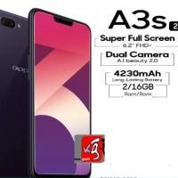 HP Oppo a3s dual camera A3 S Ram 2GB /16 GB A 3S alte A37 Vivo Y53 Y71