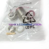 Amphenol Konektor N Female ke RG-8 ORI Kabel Koaksial RG8 Connector