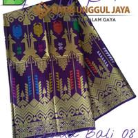 Harga kain batik pekalongan primisima prada bali 08 ungu unggul | Hargalu.com