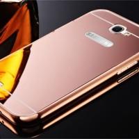 Case Samsung Note 3 N900 casing back cover bumper metal kaca MIRROR