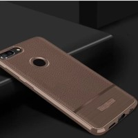 Case Huawei Honor 9 Lite softcase casing hp back cover LEATHER ARMOR