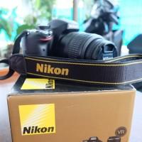 Nikon D5100 Lensa Kit 18-55 VR