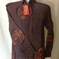 Kemeja Batik Raharja Motif Truntun Garuda I Konveksi Batik Berkualitas