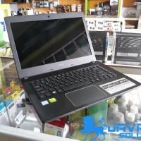 Laptop Acer E5 475G Core i5 kabylake 7th geforce MX Bekas