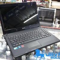 Laptop Acer core i3 4738g radeon 5470 Bekas