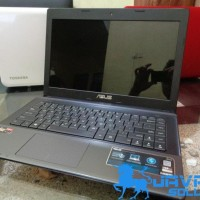 Laptop Asus x45u Ram2gb HDD500gb Bekas