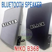 JUAL B368 SPEAKER BLUETOOTH AKTIF NIKO USB FM RADIO LINE IN ACTIVE