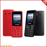 Handphone HP Candybar Philips E103 HP Dual SIM Murah Garansi 1 Tahun