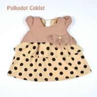 Dress Bayi / Pakaian Gaun Anak Perempuan Newborn Pesta Berlapis 0-1thn
