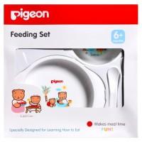 Jual Pigeon Feeding Set Mini Baby BPA Free | Peralatan Makan Bayi Murah