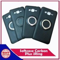 Samsung J5 2015 Softcase Carbon Plus iRing