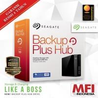 "Seagate Backup Plus Hub 10TB Desktop - Hardisk Eksternal External 3.5"""