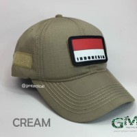 Topi Tactical With Velcro
