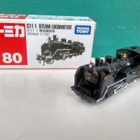 Tomica No 80 Locomotive Kereta Api Miniatur Train Replika Diecast