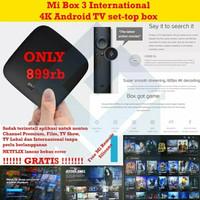 Xiaomi MiBox Mi Box 3 Internasional Android TV MDZ-16-AB