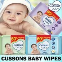 Cussons baby wipes tisu basah 50 beli 1 GRATIS 1
