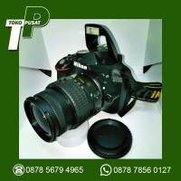 Kamera Nikon D3300 18-55 VR Kit Lengkap Black