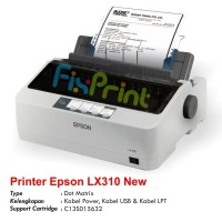 Printer Epson LX-310 LX310 LX 310 Dot Matrix 9-pin