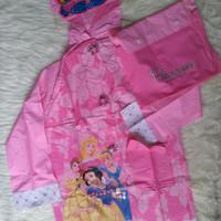 Jas Hujan Anak Karakter Princess Raincoat (Di atas Kido) Original