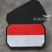Rubber patch Indonesia by Numerus