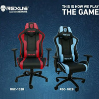 GAMING CHAIR RGC-102 - KURSI GAMING - DISASS JOGJA