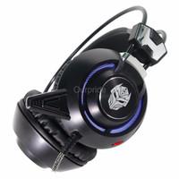 Headset Murah Rexus F35 E Sport Vibration LED Light Gaming Headset