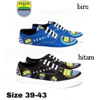Sepatu Vans Authentic Motif Persib Bandung Original Printing