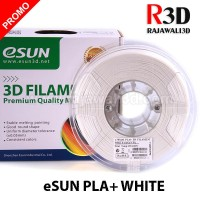 eSUN Filamen 3D Printer Filament PLA+ White 1.75 mm 1.0 kg