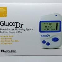Jual Alat Gluco Dr / Alat cek gula darah / Alat Cek Glucosa /Alat GlucoDr Murah