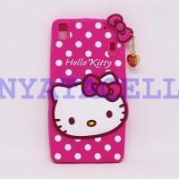 Case 3D Hello Kitty Lenovo A7000 / A7000+ Plus /Karakter/Boneka/4d