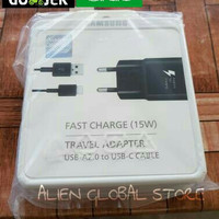 Charger Carger Casan Samsung Galaxy Note 8 Note Fan Fast Charging Ori