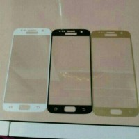 TEMPERED GLASS COLOR WARNA SAMSUNG GALAXY A710 A7 2016 FULL COVER