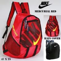 PROMO TAS SEKOLAH PRIA SPORTY TAS RANSEL NIKE MERCURIAL RED FREE RAIN