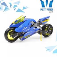 Gundam pretty armor ver 1 MG motor blue yellow