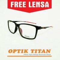 Harga frame kacamata minus baca pria wanita 3217 merah | Pembandingharga.com