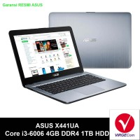 Laptop Notebook ASUS X441UA Core i3-6006U 4GB 1TB