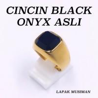 TERBATAS CINCIN SUPER KEREN BLACK ONYX ASLI SUPER EKSLUSIF MURAH MERI